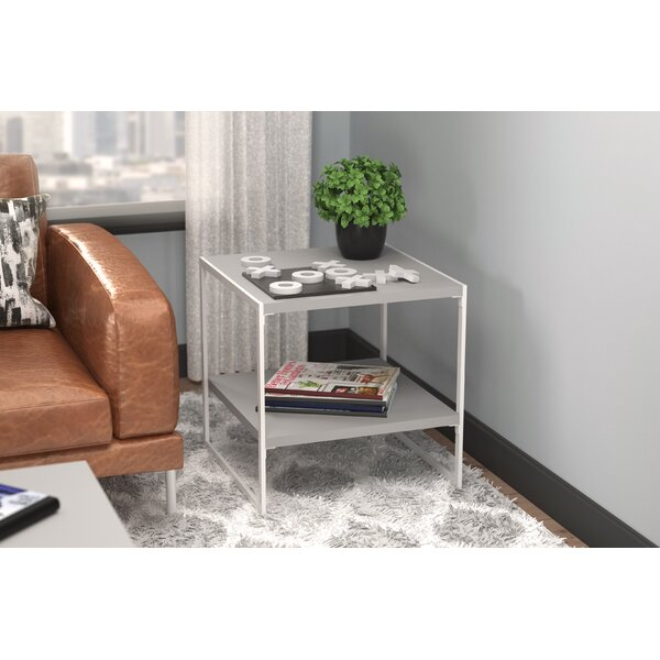 Sled End Table with Storage by ClosetMaid ClosetMaid