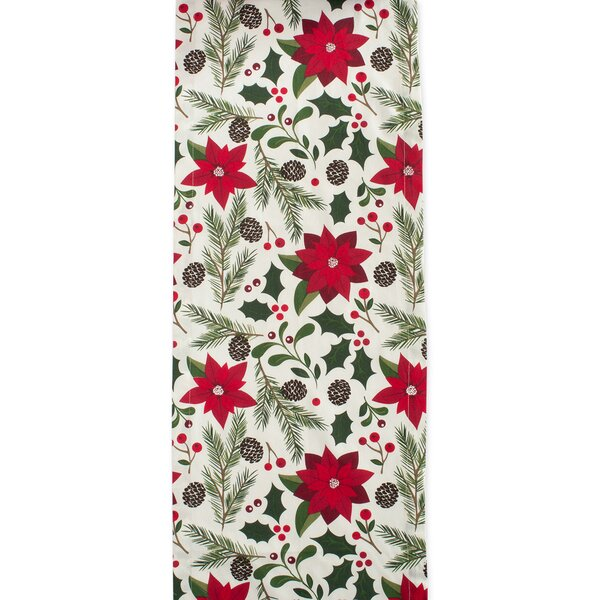 Eliza Woodland Christmas Table Runner by The Holiday Aisle