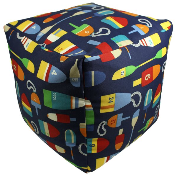 Philips Pouf Ottoman by Breakwater Bay