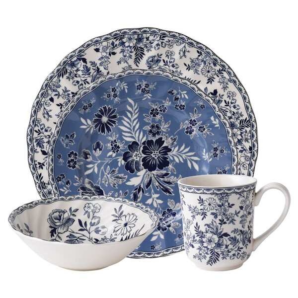 Devon Cottage 4 Piece Single Place Setting, Service for 1 by Johnson Brothers