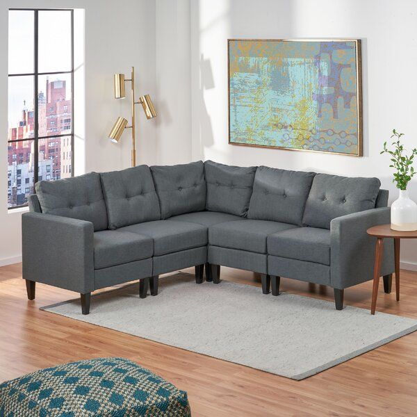 LaGuardia Symmetrical Modular Sectional By Red Barrel Studio