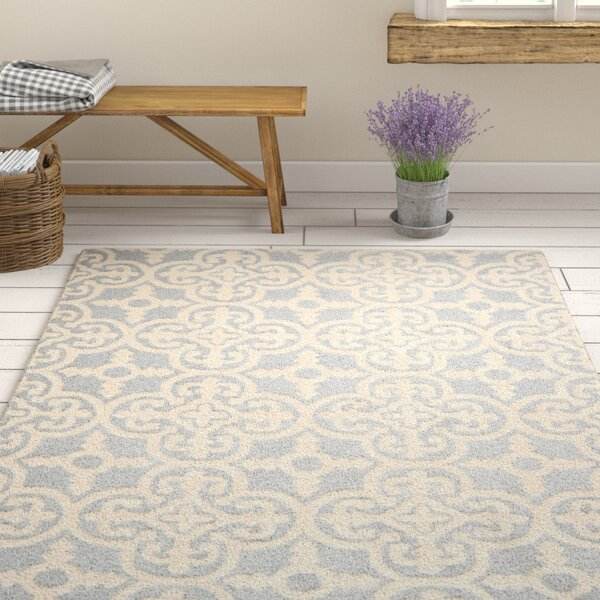 Nicholls Gray Hand-Woven Wool Area Rug by One Allium Way