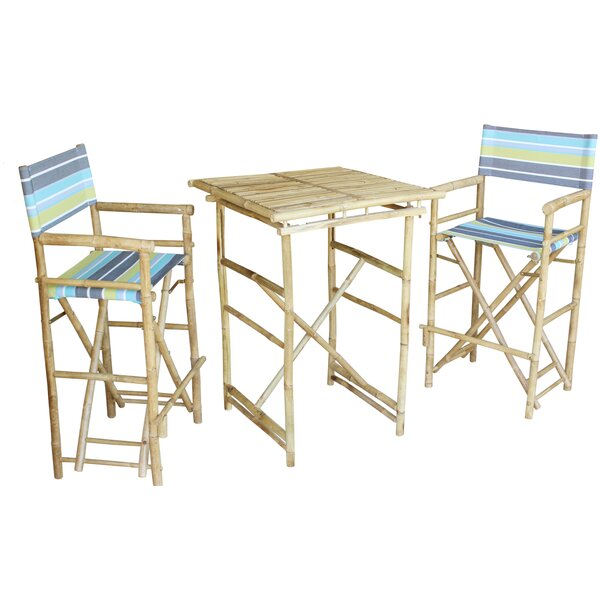 Bastien 3 Piece Pub Table Set by Bay Isle Home