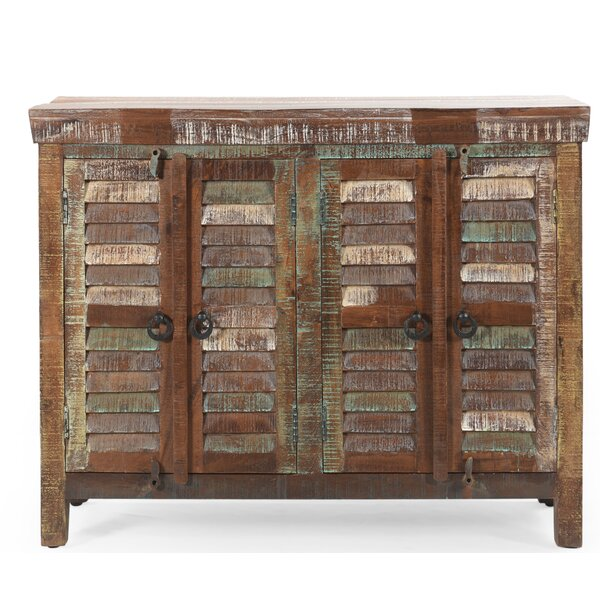 Aldrin 4 Door Accent Cabinet by World Menagerie World Menagerie