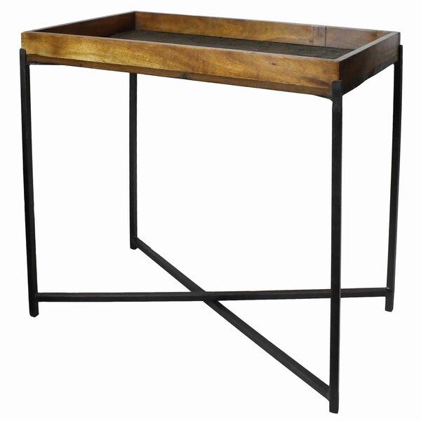 Velazco Wooden Tray Table