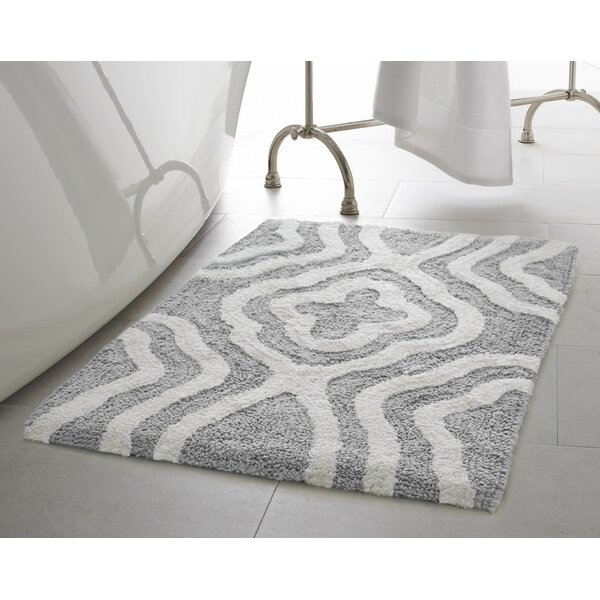 Giri 2 Piece Plush Bath Mat Set by Jean Pierre
