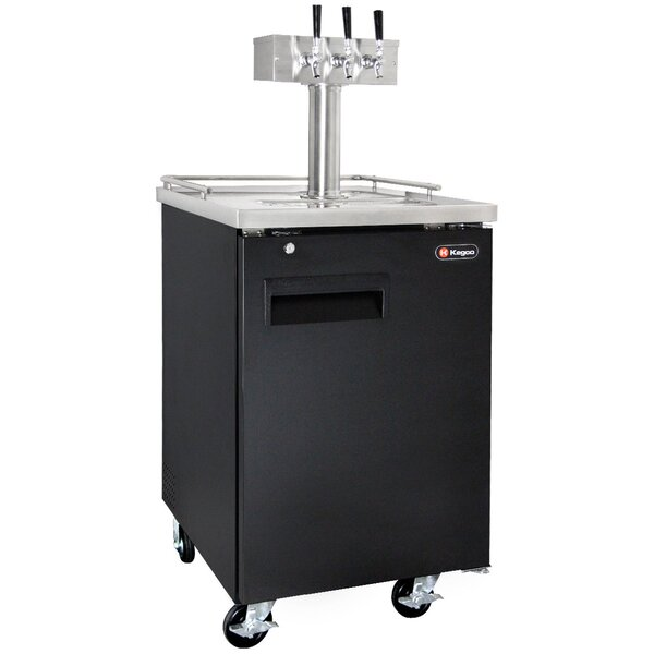 Triple Tap Full Size Kegerator by Kegco