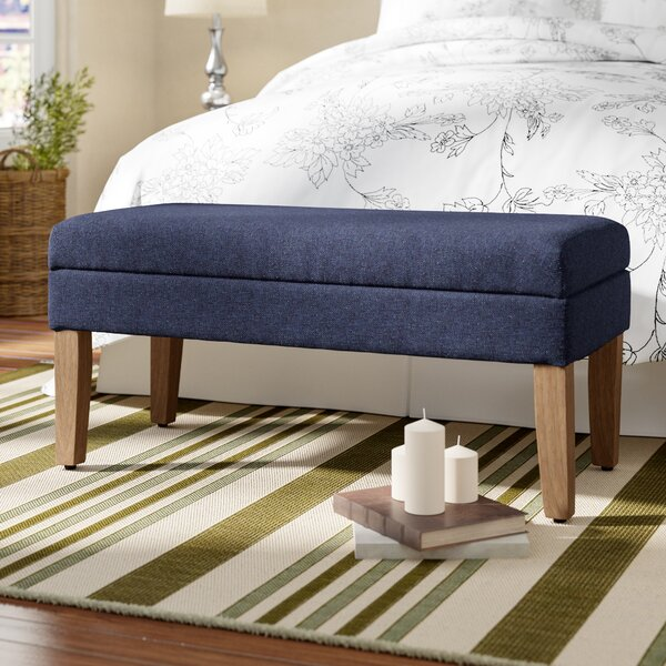 North Andover Decorative Upholstered Storage Bench by Charlton Home