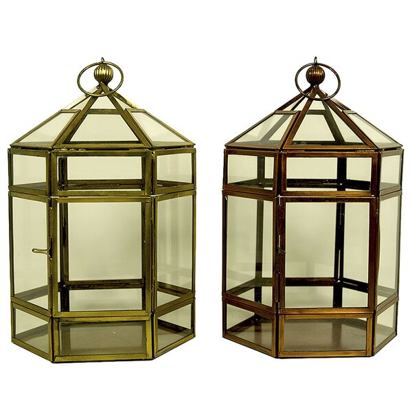 Classic Lantern (Set of 2) by August Grove