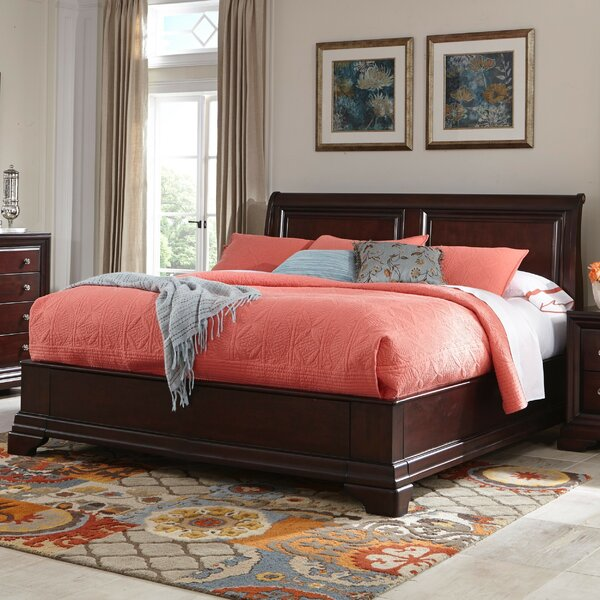 Newport Sleigh Bed by Cresent Furniture