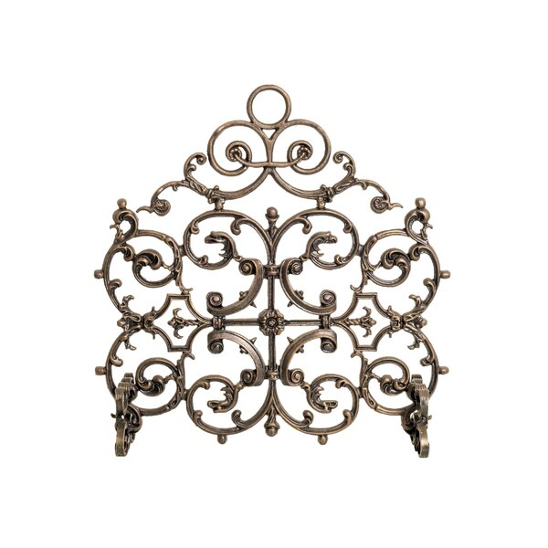 Classic Single Panel Iron Fireplace Screen By Ornamental Designs