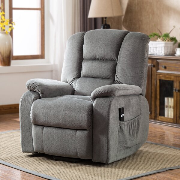 Carolos Safety Power Lift Assist Recliner by Red Barrel Studio