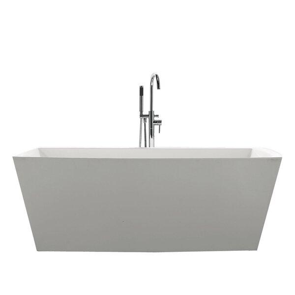 Sessile 67 x 28.75 Soaking Bathtub by Jade Bath