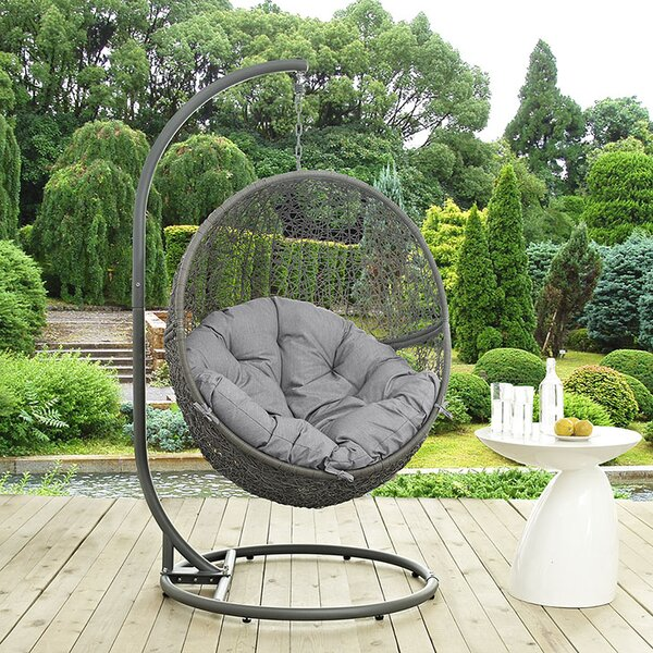 Valletta Swing Chair with Stand by Mercury Row