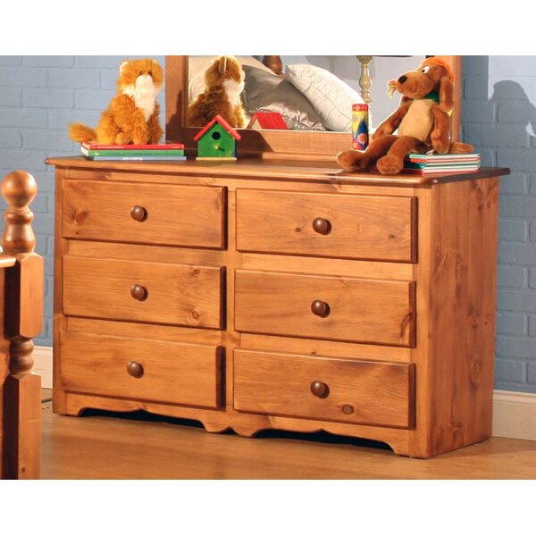 Conway 6 Drawer Double Dresser by Chelsea Home