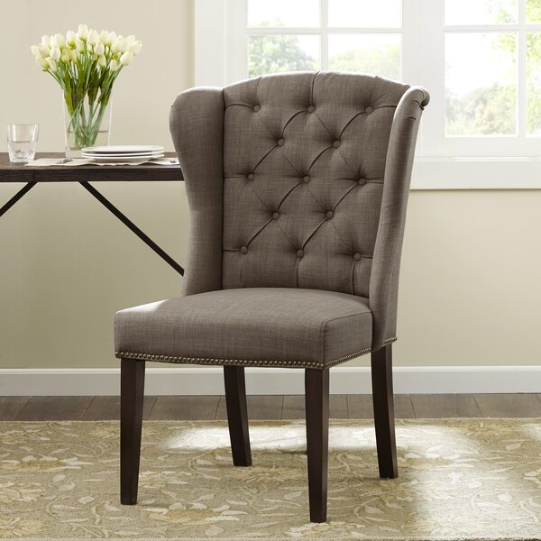 Bluebird Upholstered Dining Chair by Darby Home Co