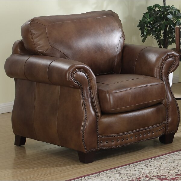 Beglin Cognac Club Chair by Darby Home Co