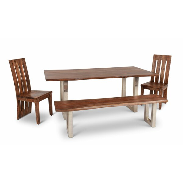 Avelar 4 Piece Dining Set by Loon Peak