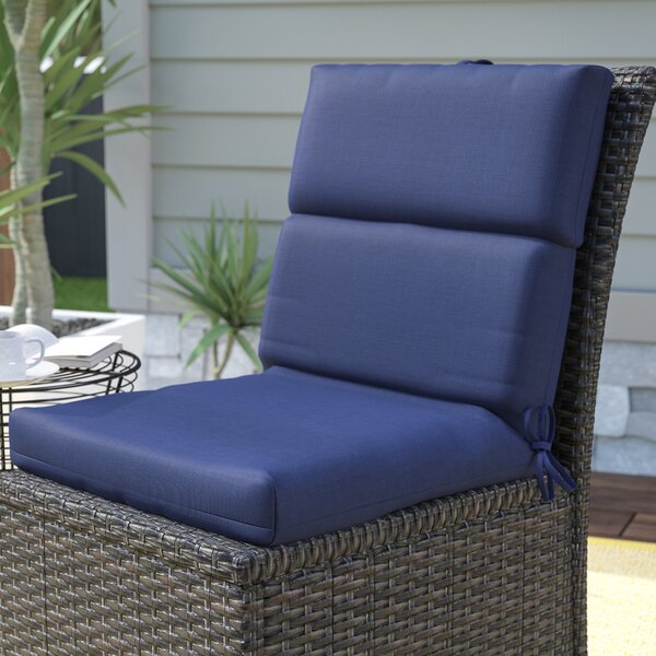 Indoor/Outdoor Sunbrella Dining Chair Cushion by Mercury Row
