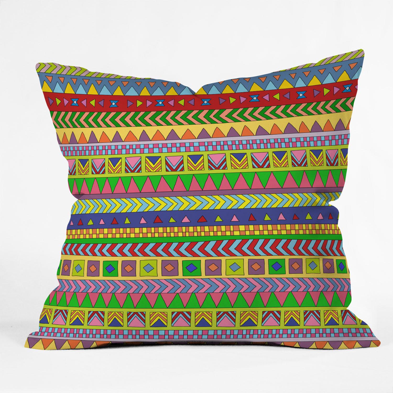 Wayfair Green Throw Pillows : Deny Designs Bianca Green Forever Young Throw Pillow Wayfair