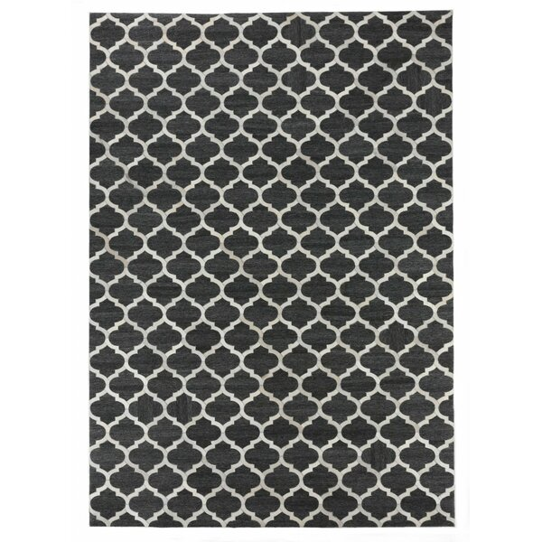 Charcoal/Ivory Area Rug by Exquisite Rugs