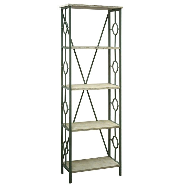 Cottrell Key Largo Seafoam Etagere Bookcase by Rosecliff Heights