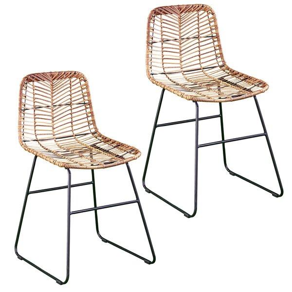 Iliana Patio Dining Chair (Set Of 2) By Bay Isle Home