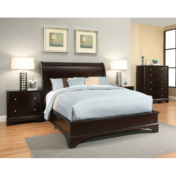 Juliana Platform 4 Piece Bedroom Set by Latitude Run