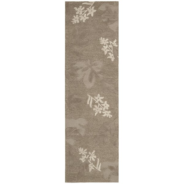 Peterson Hand-Tufted Chocolate Area Rug