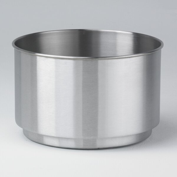Cleanline Stainless Steel Pot Planter by Toledo Metal Spinning