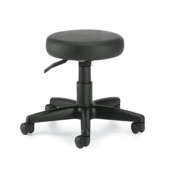 Height Adjustable Swivel Stool by Global Total Office
