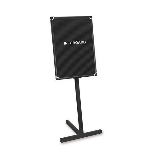 Free Standing Bulletin Board by Bi-silque Visual Communication Product, Inc.