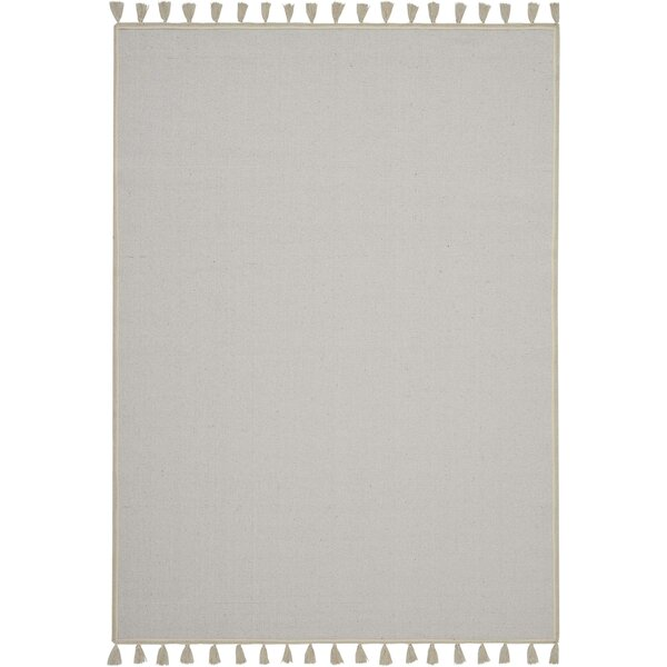 Eliseo Casual Flatweave Ivory Area Rug by Bungalow Rose