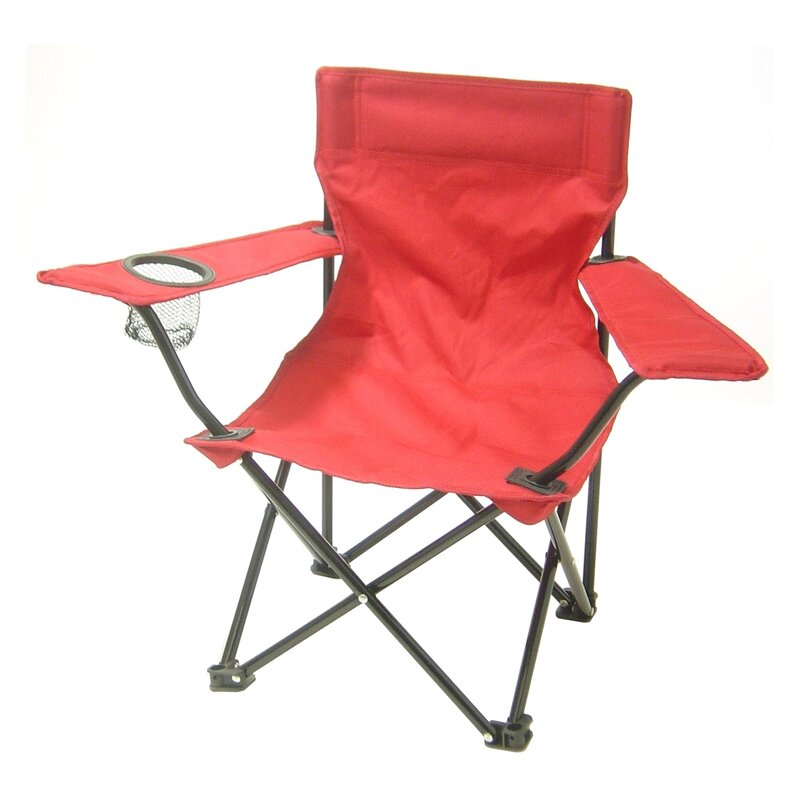 Randy Folding Kids Camping Chair With Cup Holder