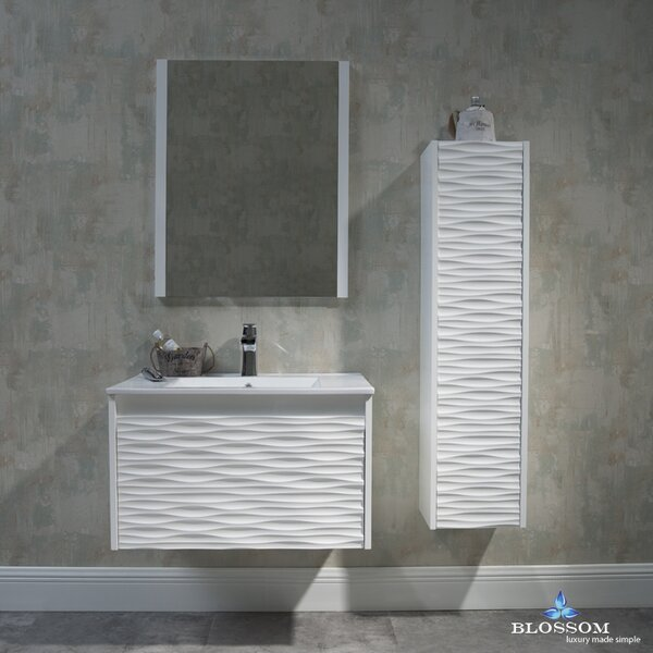 Artesian 30 Single Bathroom Vanity Set with Mirror by Ivy Bronx