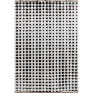 Delacruz Ivory/Charcoal Area Rug