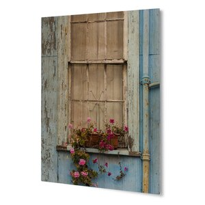 'Cottage Window' Photographic Print on Plaque by KAVKA DESIGNS