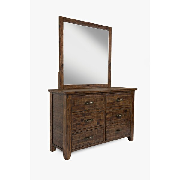 Athol 6 Drawer Dresser by Three Posts