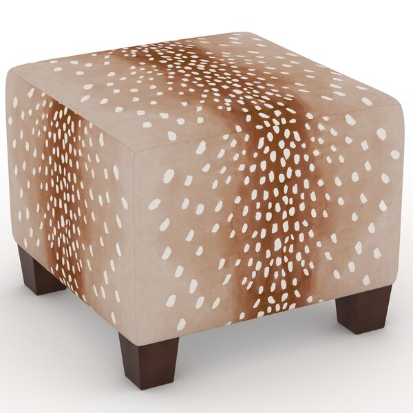 Callie Cube Ottoman by Union Rustic