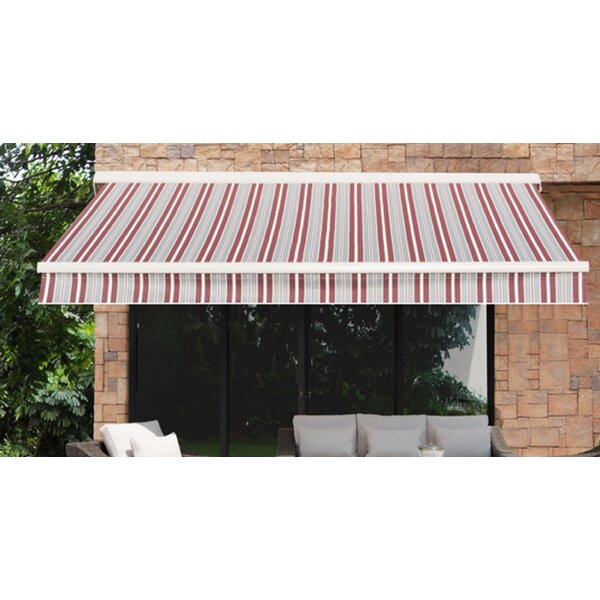 Sunjoy 16 ft. W x 10 ft. D Retractable Patio Awning by Sunjoy
