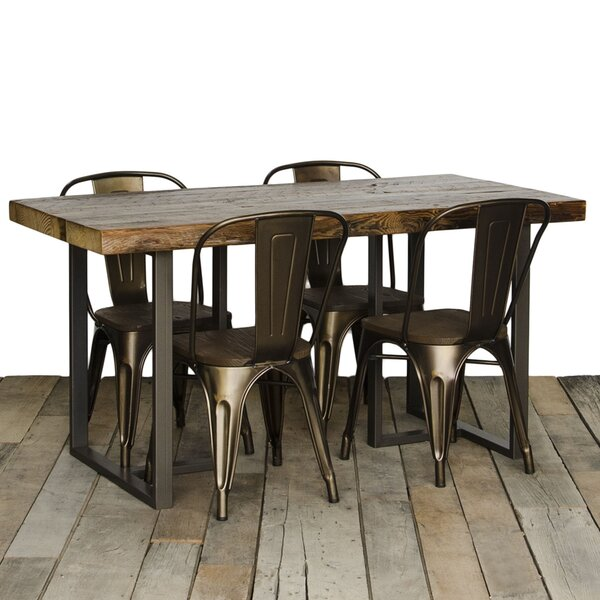 Uptown Dining Table by Urban Wood Goods
