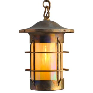 Clearance Balboa 1-Light Outdoor Hanging Lantern By America's Finest Lighting Company