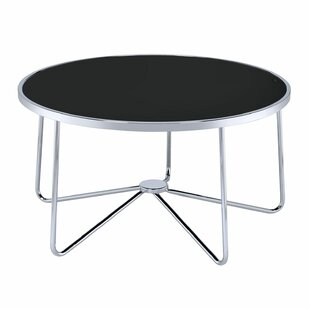 Talamantez Contemporary Round Living Room Coffee Table