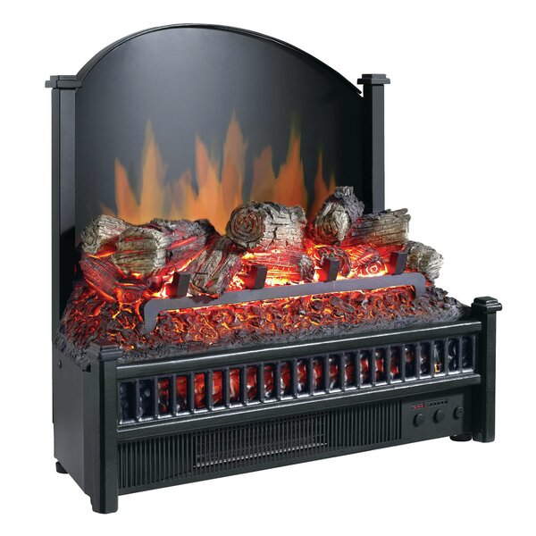 Electric Fireplace Logs Heater by Pleasant Hearth