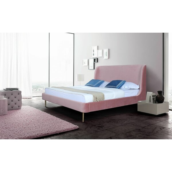 Graeme Upholstered Platform Bed by Everly Quinn