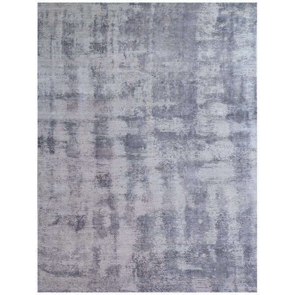 Antolini Hand-Woven Gray Area Rug by Exquisite Rugs