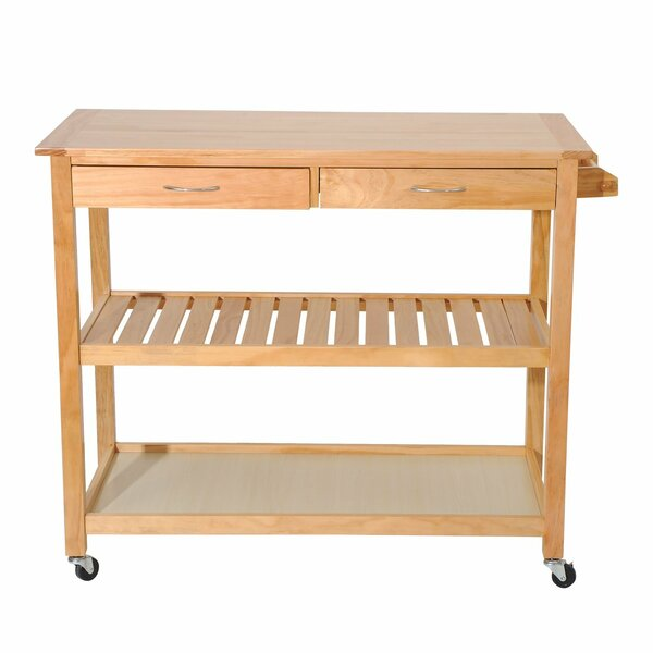 Rupert 3 Tier Kitchen Cart by Millwood Pines