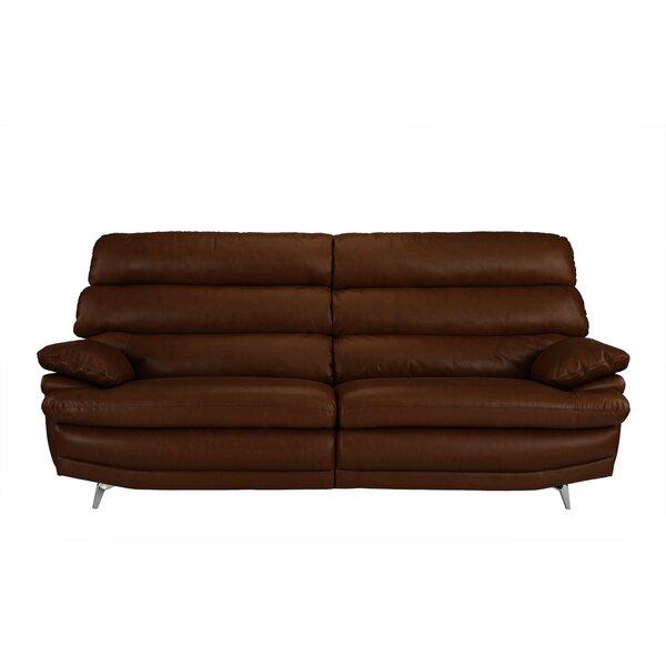 Marty Leather Sofa by Orren Ellis