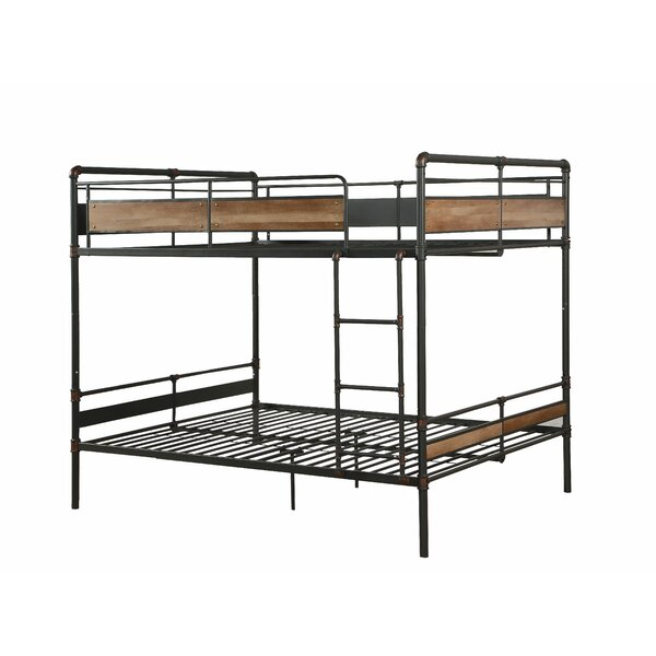 Mascolo Hand Brushed Queen over Queen Bunk Bed by Isabelle & Max