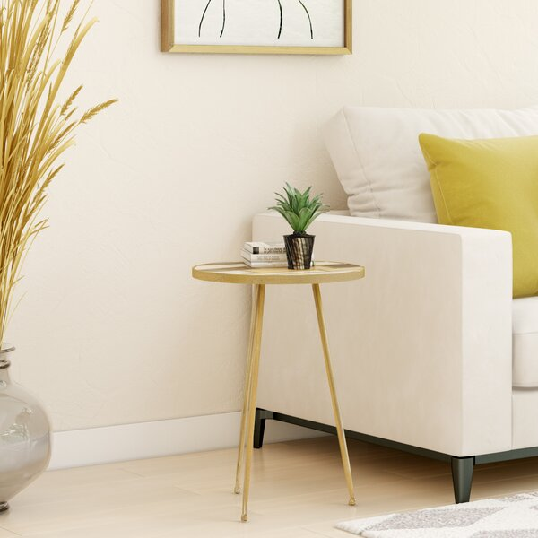 Byrns End Table By Wrought Studio